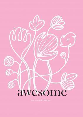 Poster Blomster